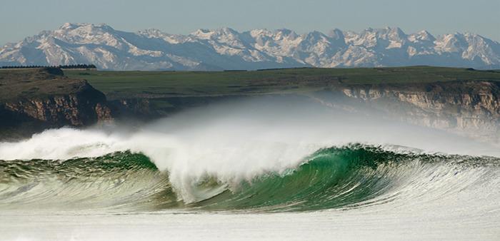 Los Locos surf break