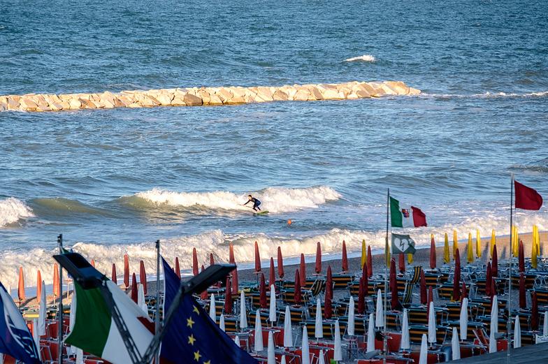 Fano Lido (Spiaggia di Ponente) surf break
