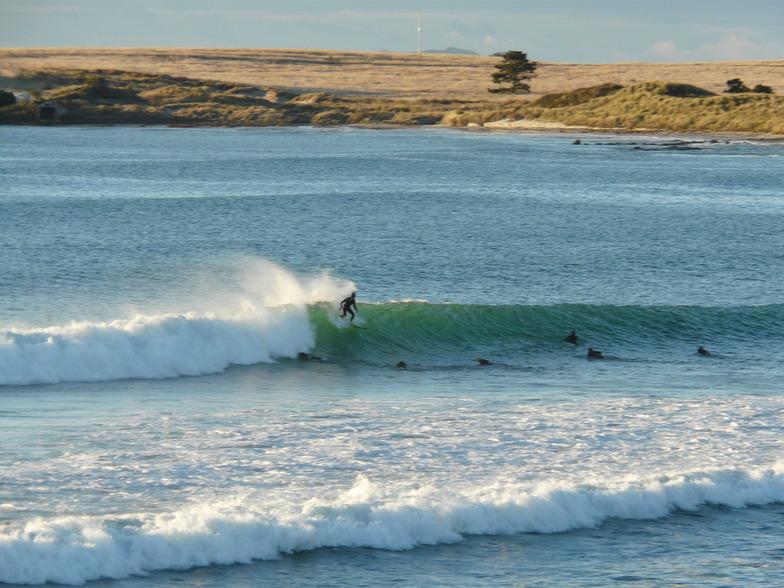 Little Swanport surf break