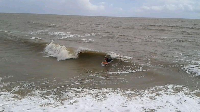Bodyboarding in August in Essex!, Walton-On-The-Naze