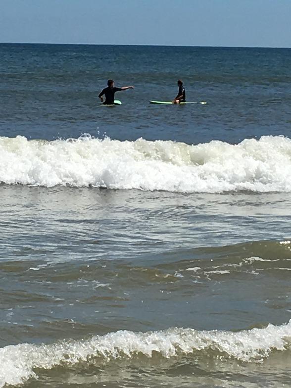 Brick Beach surf break