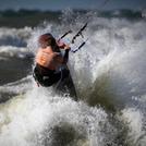 Explosive Storm Surf, Grand Haven
