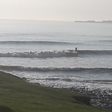 Ogs left, Ogmore-by-Sea