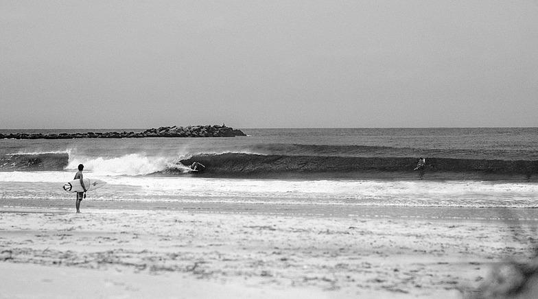 Masonboro Inlet surf break