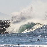 First swell of Autumn, The Wedge