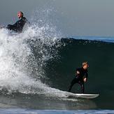 Ah! It was my wave!, El Porto Beach