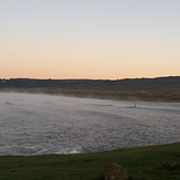 Steam at dawn, Ogmore-by-Sea