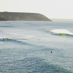 January swell, Lostmarc'h photo