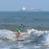 Surf progress Margarita Conde Sarmiento, Punta Roca