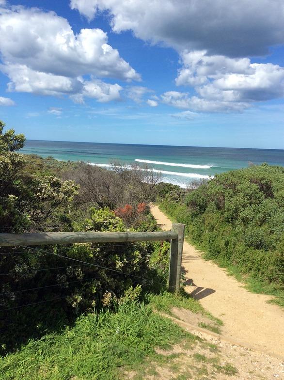 Anglesea surf break