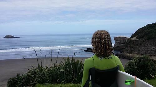 Fantastic surf day, Maori Bay
