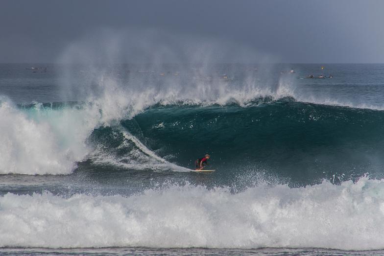 Mawi surf break