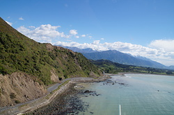 After the Kaikoura Earthquakes, Kahutara photo