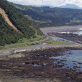 Waipapa Bay area after the 7.8 Kaikoura Earthquake
