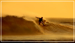 Sunrise Surfer, Alkantstrand photo
