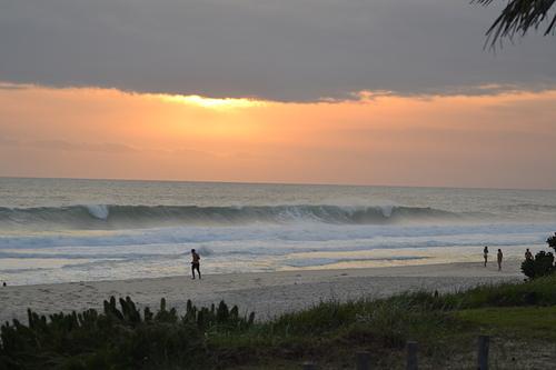 End of the day in Praia da Vila - Saquarema, Itaúna