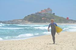 Good surf day at itauna, Itaúna photo