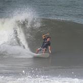 Alduir dropping on a UAJU Surfboard, Mendihuaca