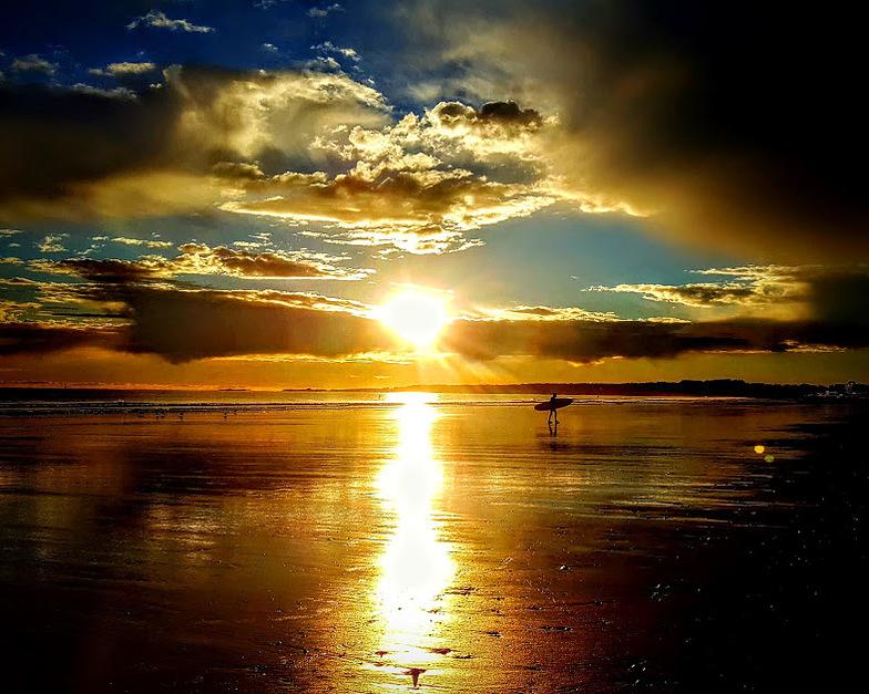 dawn patrol, Nantasket Beach