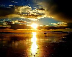 dawn patrol, Nantasket Beach photo