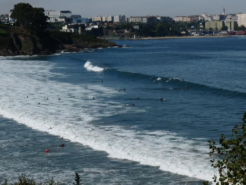 Playa de Bastiagueiro surf break