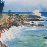 Surf at Broad Cove