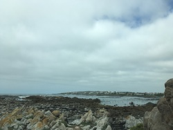 Haardebaai on a bad day photo