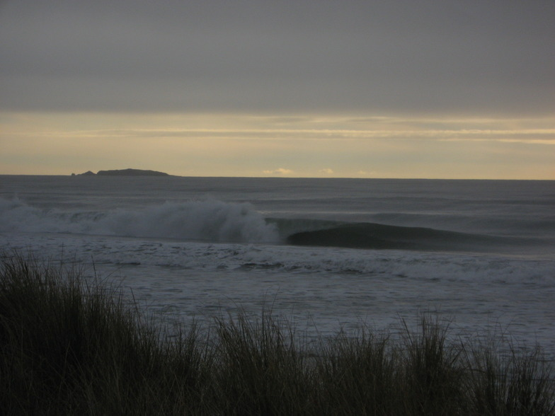 Haast Beach surf break