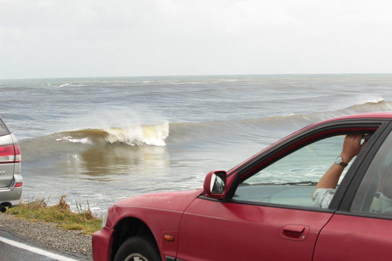 Westport Breakwater surf break