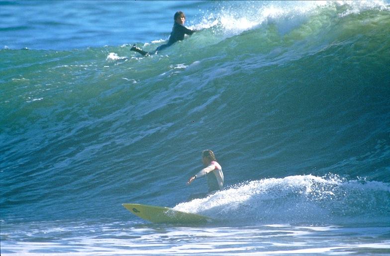 Rincon - Rivermouth surf break