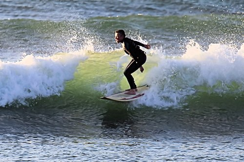 Late afternoon fun session at S-Turns
