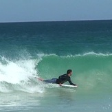 Bodyboarder at Trigg, Trigg Beach