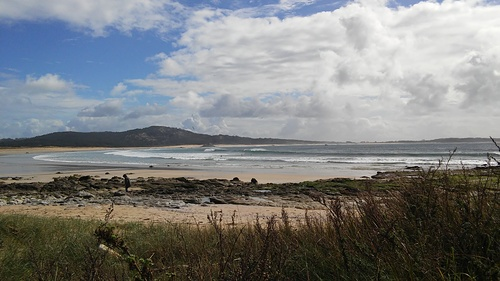 Playa de Ladeira Corrubedo Febrero 2017