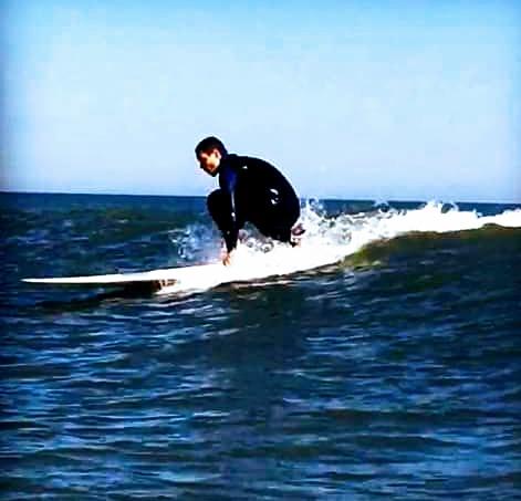 Long board, Fernandina Beach Pier