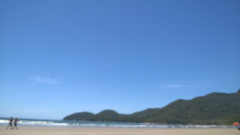 Peruibe surf break
