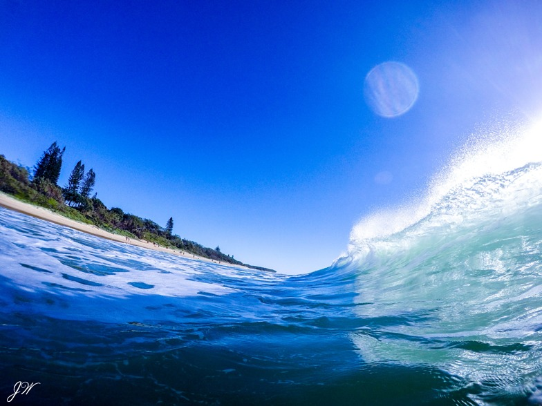 Shore break Beauty, Currimundi Beach