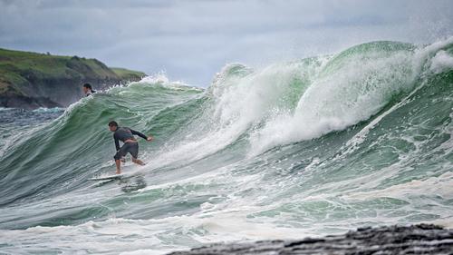 Werri Beach Surfer