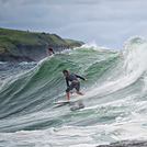 Werri Beach Surfer