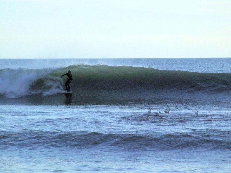 Portwrinkle surf break