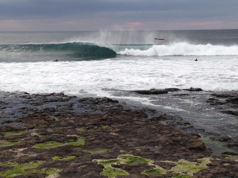 Easky Right surf break
