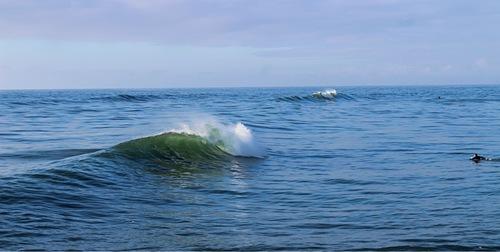 Tip top, Westport Breakwater