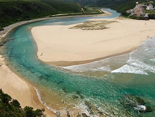 Praia de Odeceixe surf break