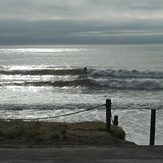 Small clean local swell, Rabbit Island