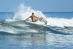 photo: Alberth Artigas, surfer: Blas Bocardo, Santa Cruz photo