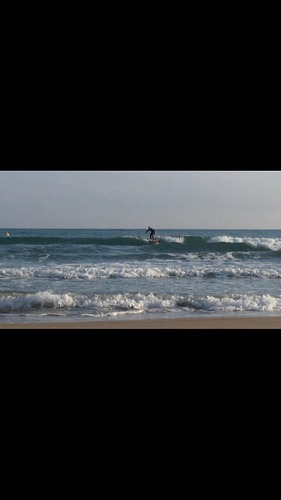 supsurfer, Oliva Beach
