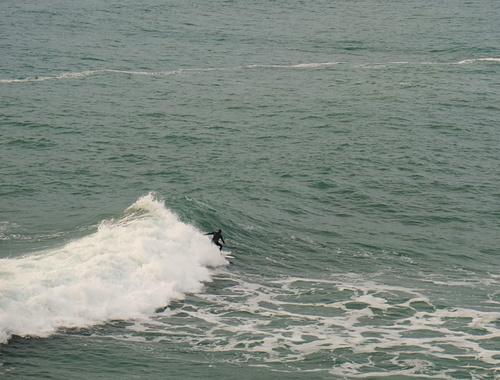 High tide at Fletchers, Fletchers Beach