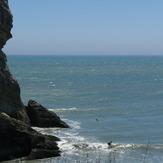 Fletchers - Tiny summer swell, Fletchers Beach