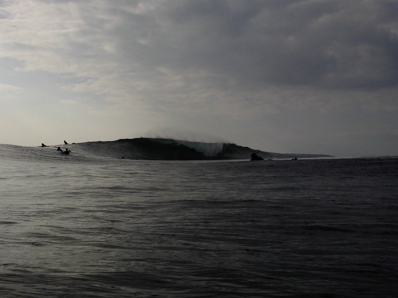 Crab Island surf break