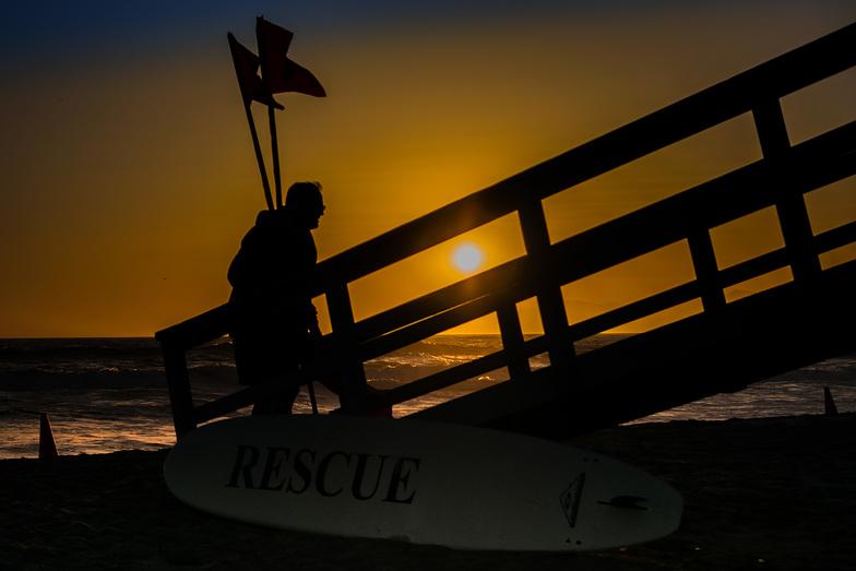 El Segundo Beach Jetty surf break