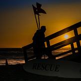 Packing it up, El Segundo Beach Jetty